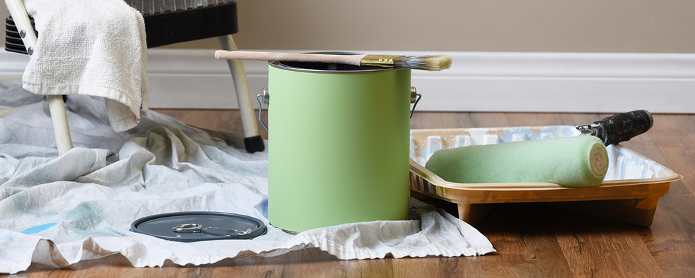 Supplies for painting your home