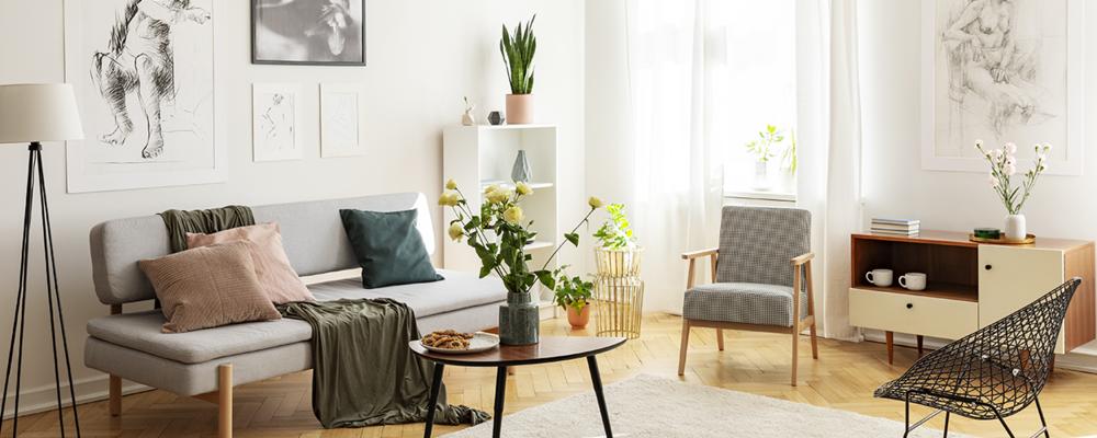 Artwork for spring living room makeover