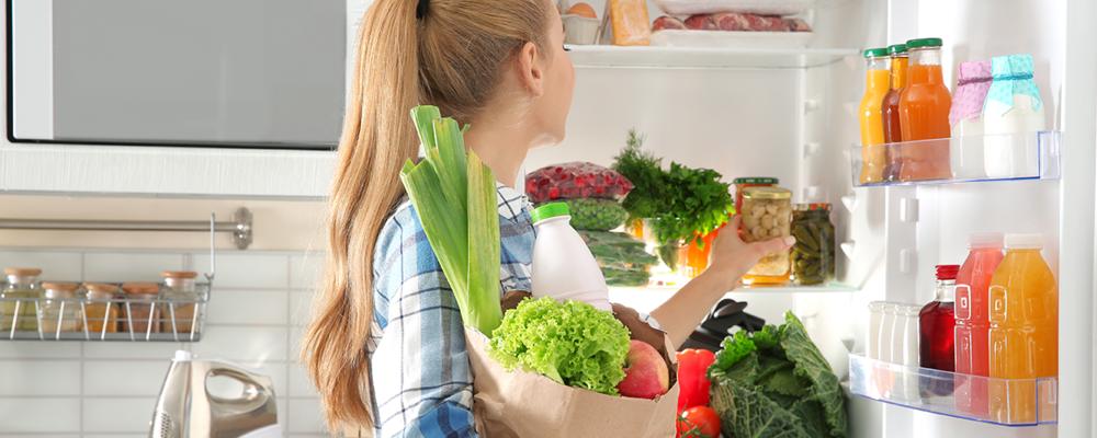 Kitchen organization hacks for refrigerator