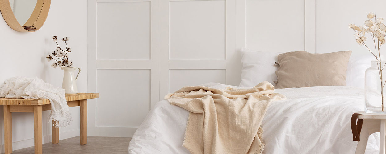 Cotton bedding for summer home