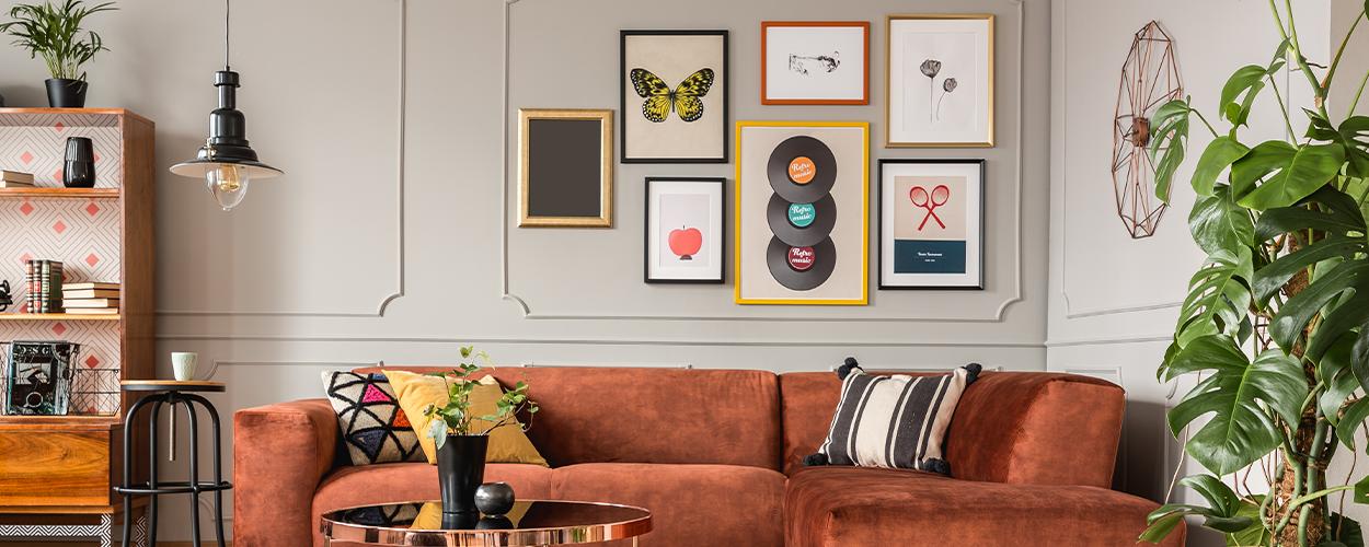 Gallery wall layout idea