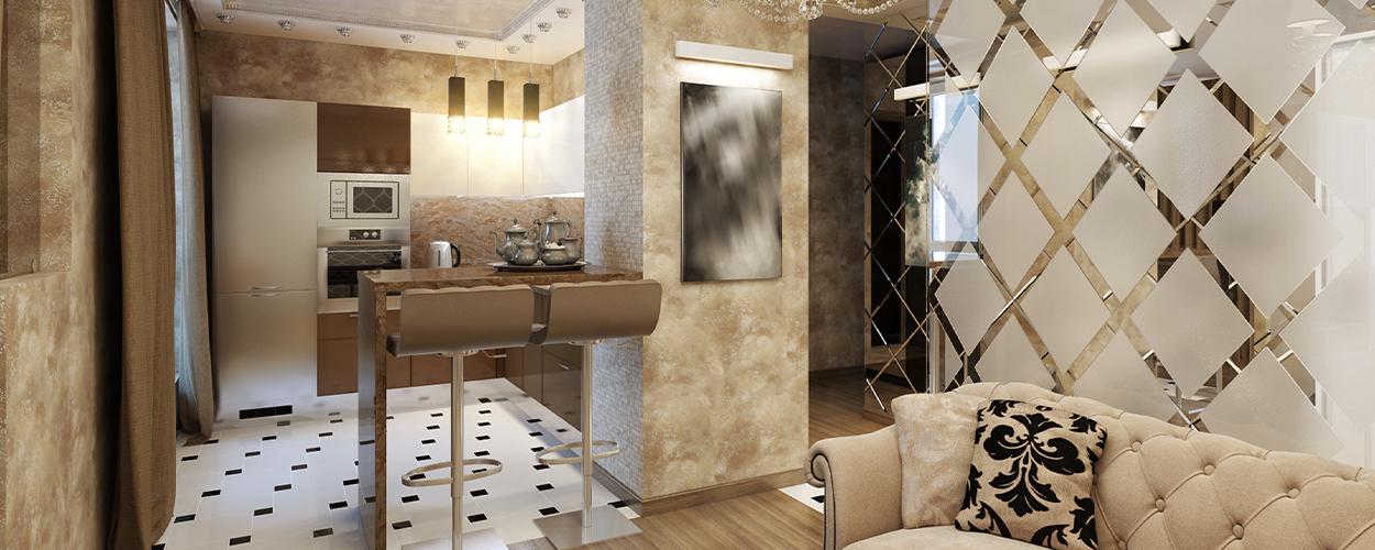 Art deco living room idea