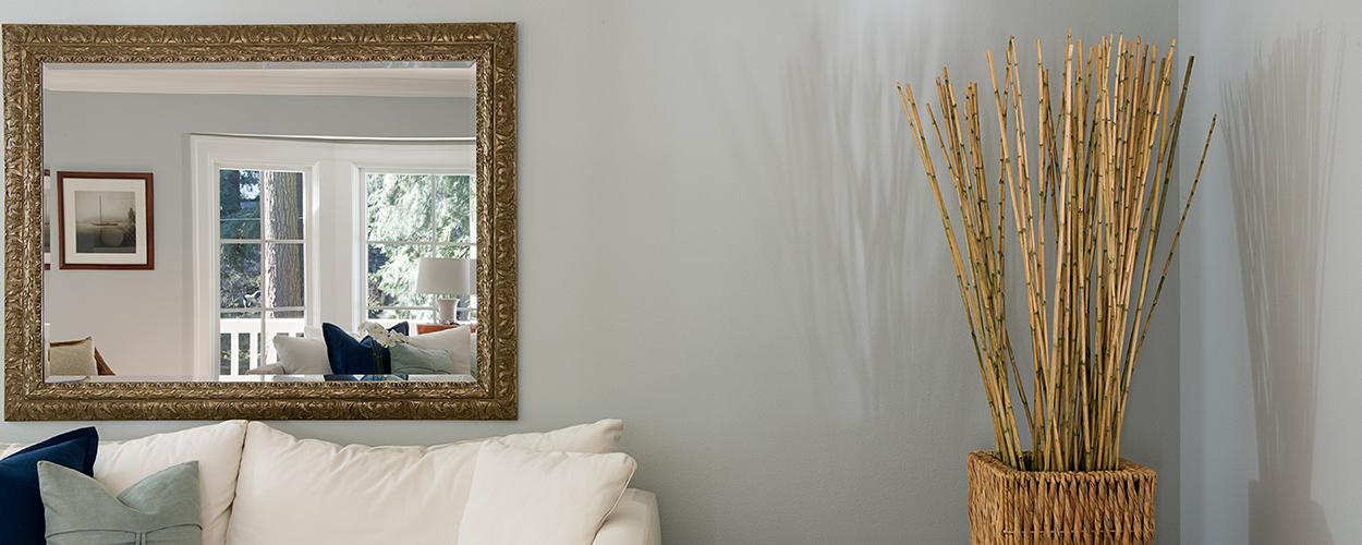 Traditional home decor mirror